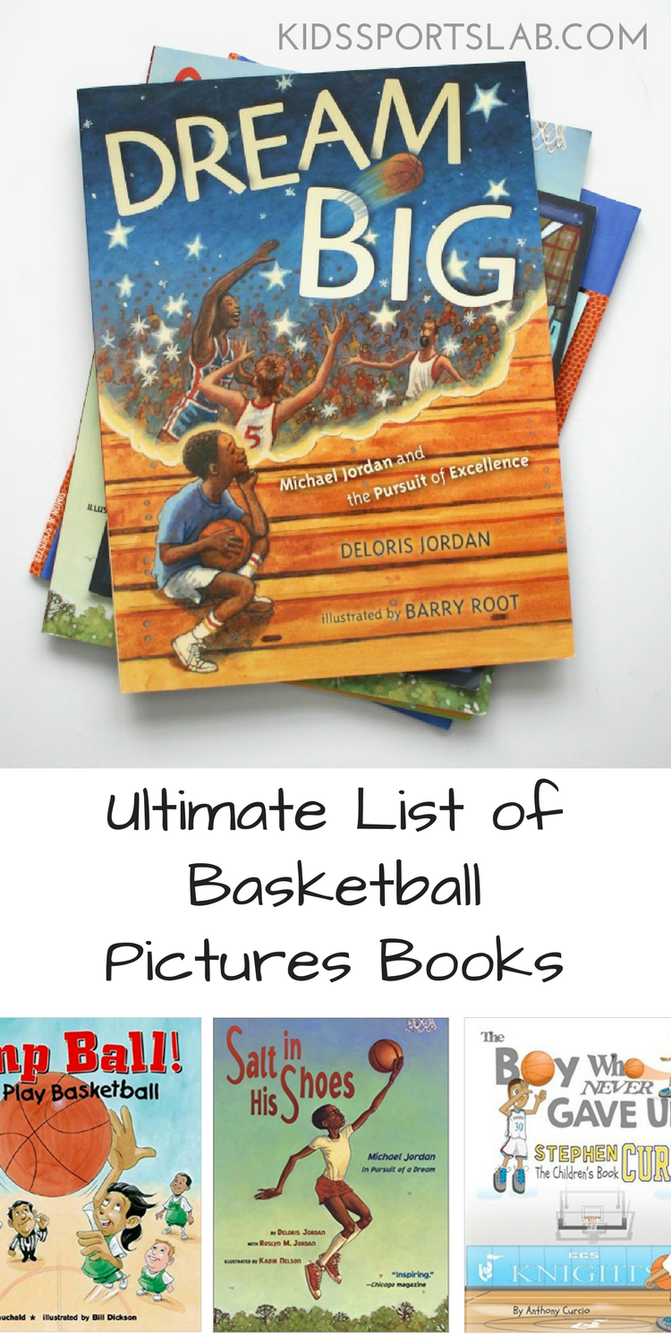 Looking for the perfect picture book for your child or little one who loves basketball? Here are a few books that every basketball-loving child will adore.