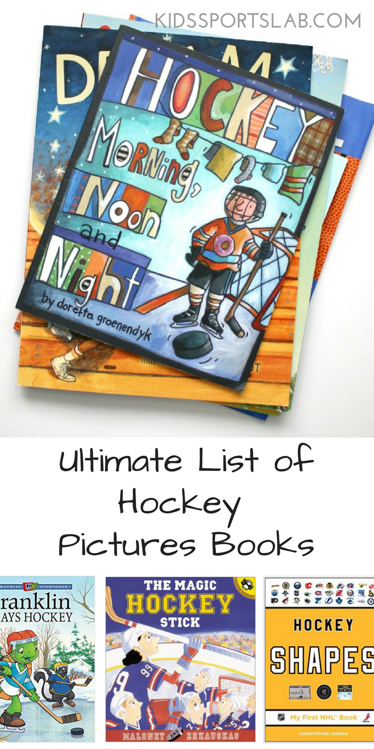Looking for the perfect picture book for your child or little one who loves hockey? Here are a few that are sure to spark a smile and be loved for many reads to come.