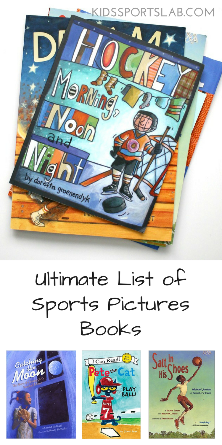 Do your children love reading books about sports? We've been on the hunt for great sports-themed picture books for months and compiled the ultimate list of sports pictures books you're sure to love.