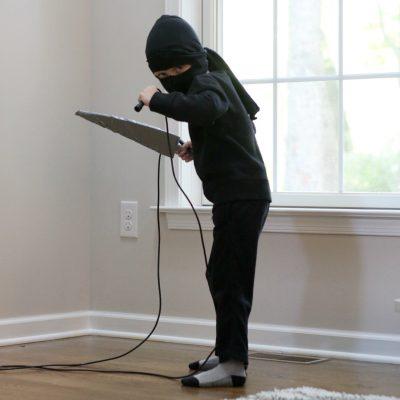 Karate Kid: A DIY Costume for Kids Who Love Ninjas